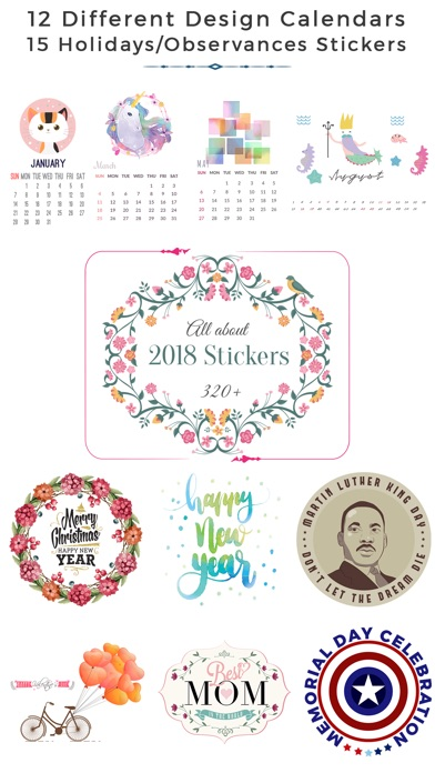 2018 Calendar & Celebrations screenshot 1
