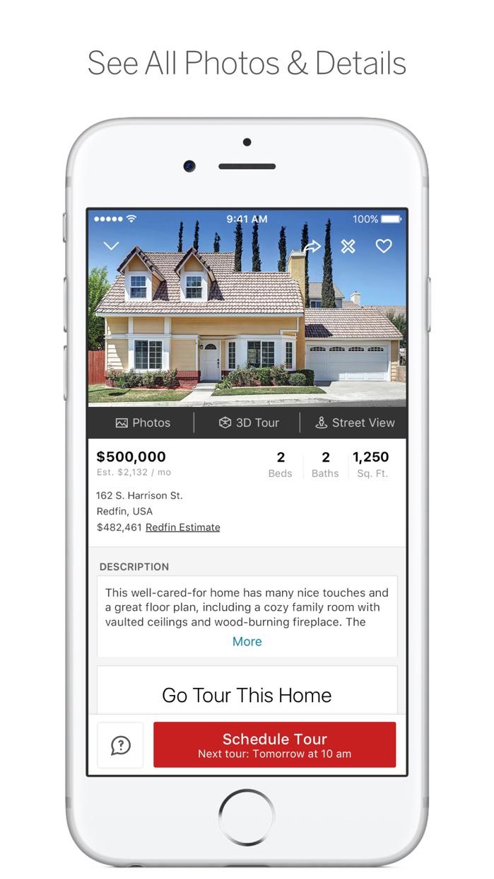 Redfin Real Estate Screenshot