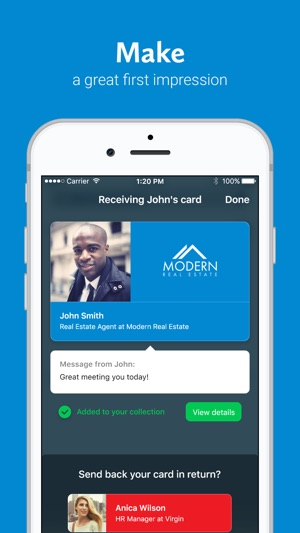 Haystack business cards on the app store haystack business cards on the app store colourmoves