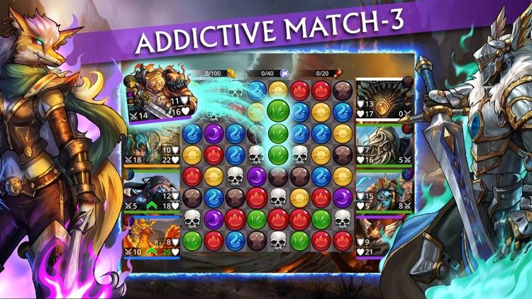 Gems of War – Match 3 RPG screenshot-0