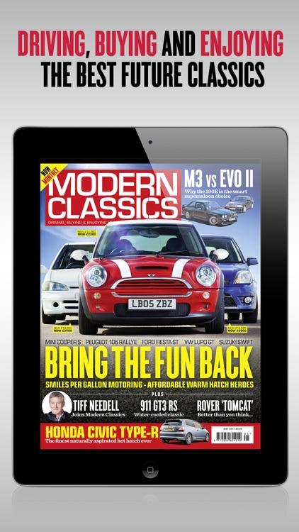 Modern Classics car magazine