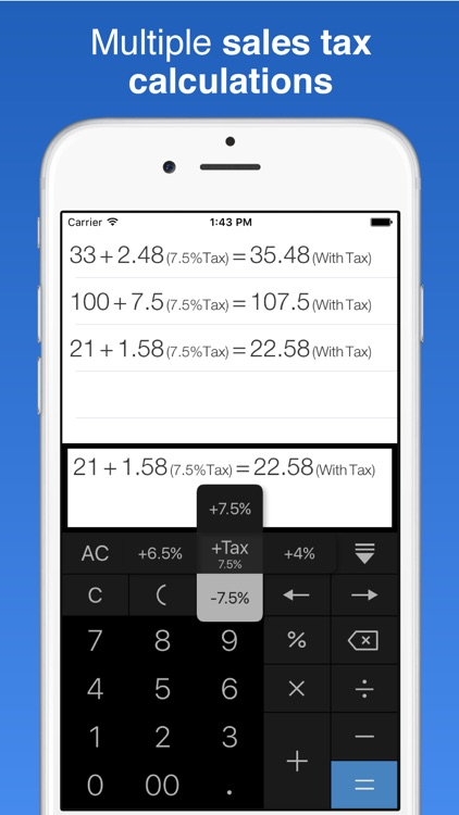 Rapid & Quick Calculator Pro screenshot-2