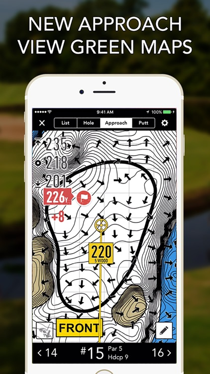 GolfLogix GPS + Putt Breaks screenshot-1
