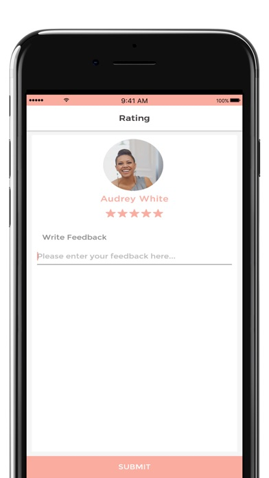 Screenshot of bGPro App