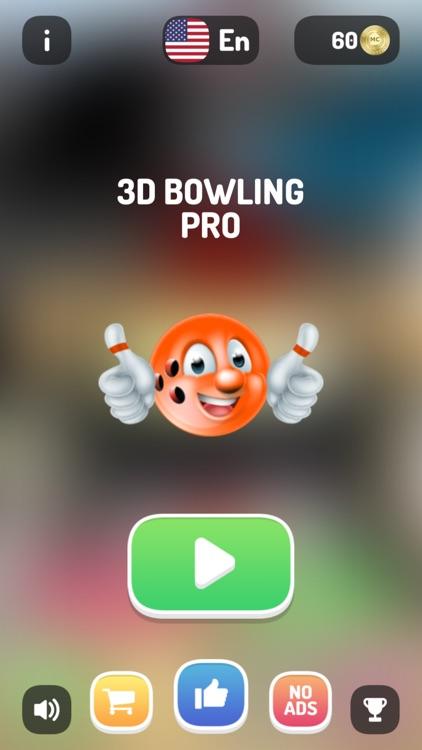 3D Bowling Pro -Ten Pin Strike screenshot-0