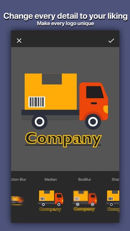 Logo Shop Creator - Logo Maker screenshot-4