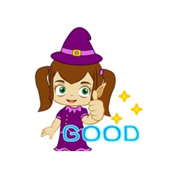 Little Witch Witcheya stickers