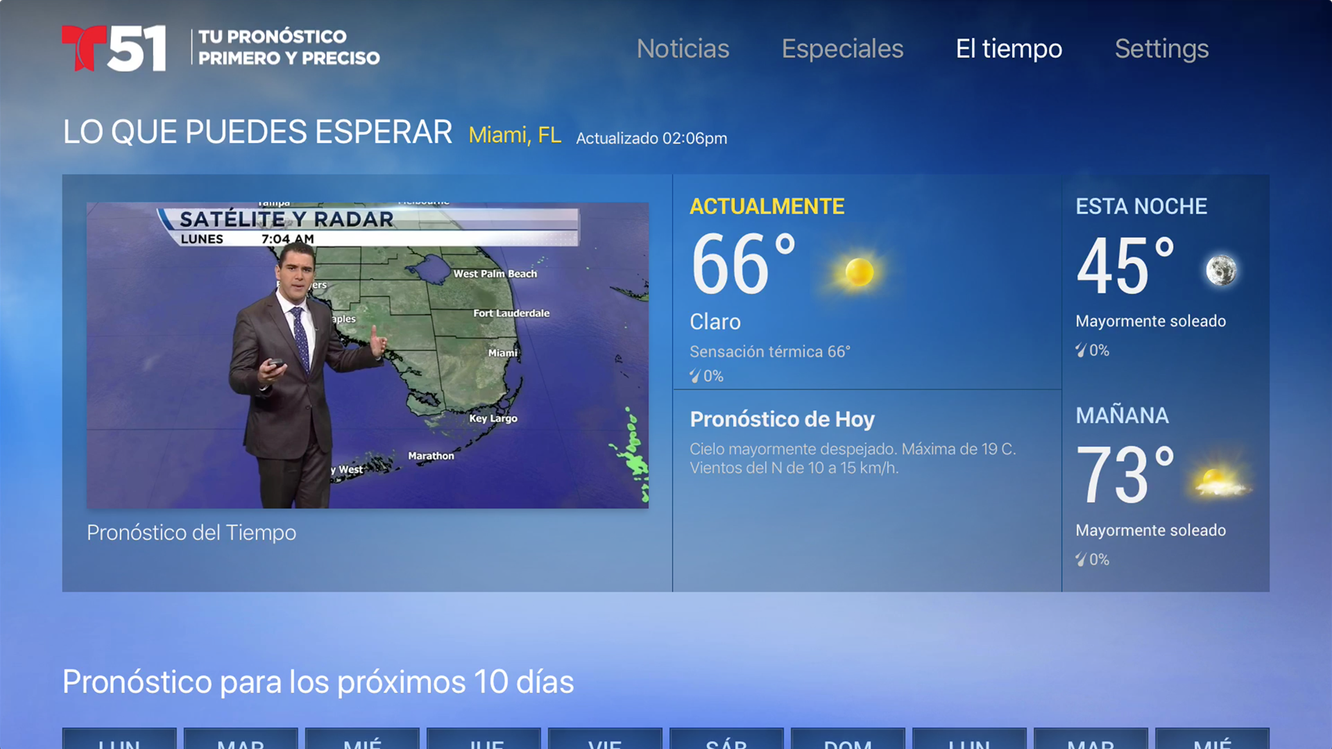 Telemundo 51 screenshot 17