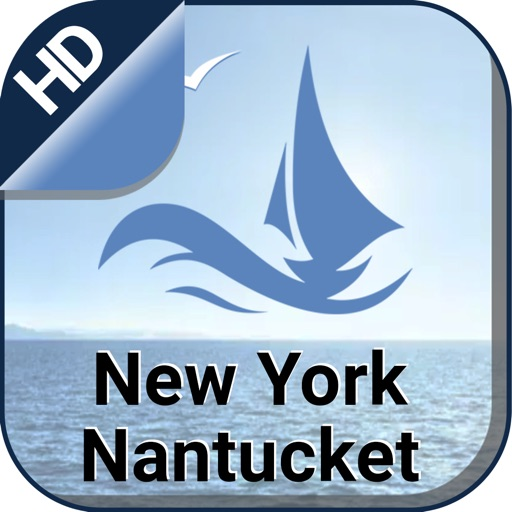 New York - Nantucket boating offline fishing chart