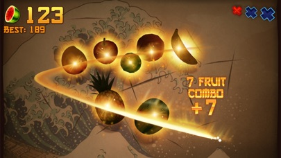 Screenshot of Fruit Ninja® App