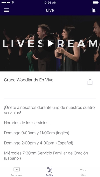 Grace Latino screenshot 2
