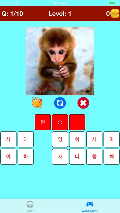 Learn Korean Vocabulary Lite screenshot-4