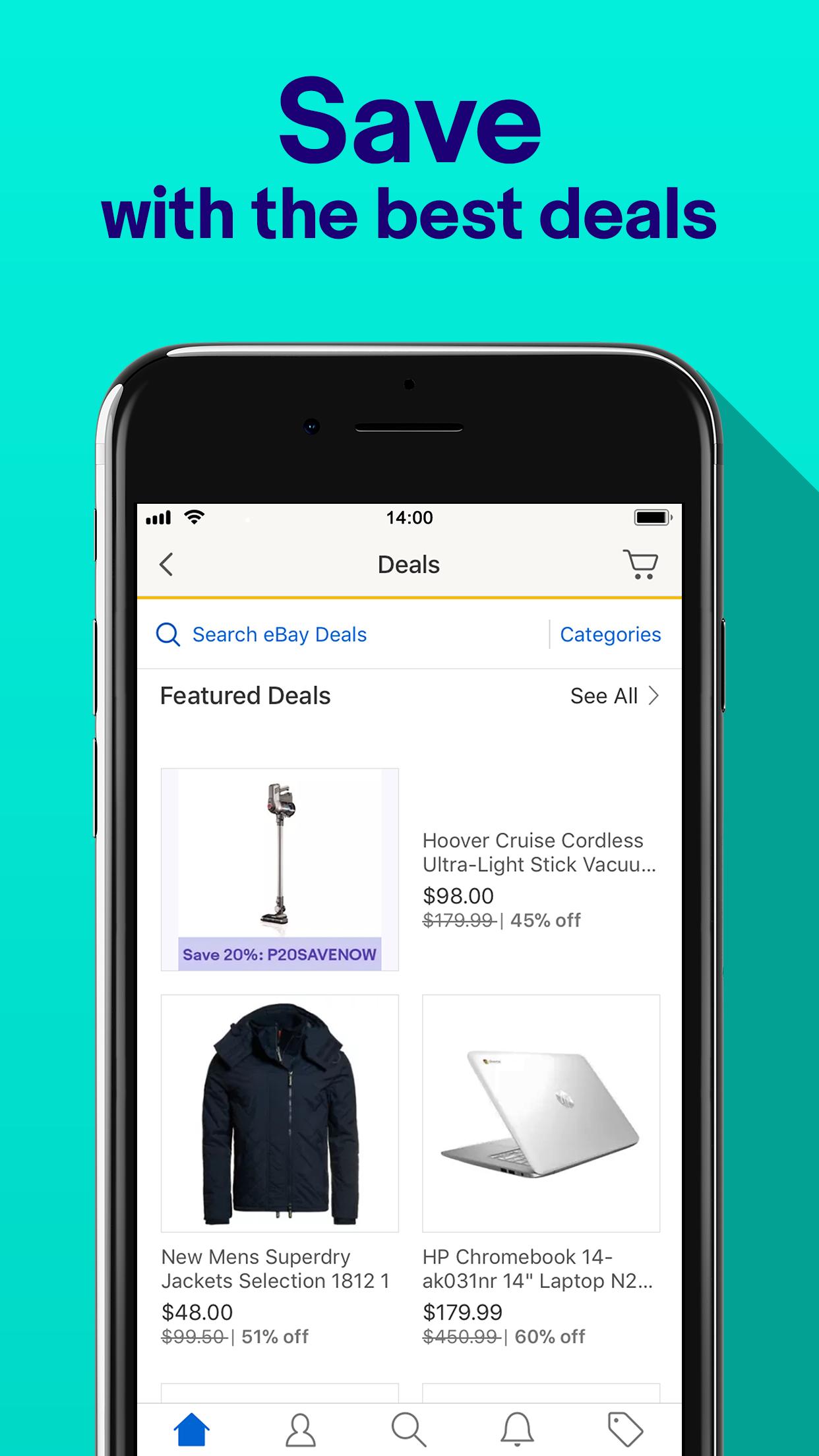 eBay - Home & Fashion Shopping Screenshot