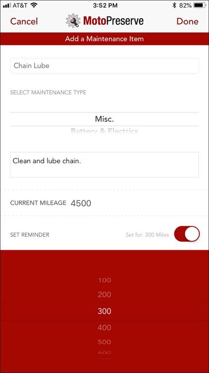 MotoPreserve screenshot-5