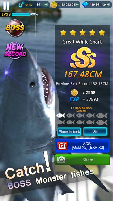 Monster Fishing 2019 screenshot 2