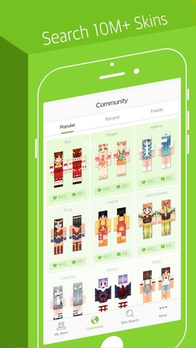 Skinseed For Minecraft Skins Revenue Download Estimates Apple - Skins para minecraft pe jason