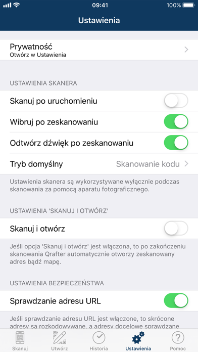 Screenshot for Qrafter Pro - Kod QR in Poland App Store