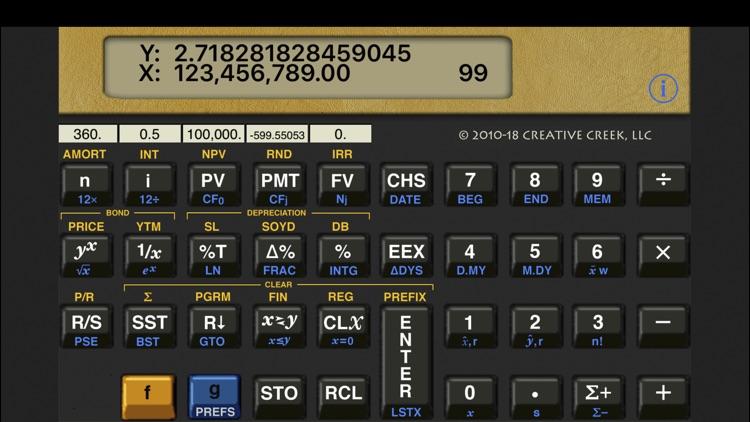 MathU 12D Financial Calculator screenshot-3