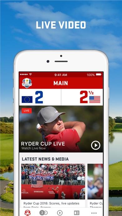 Ryder Cup 2018 review screenshots