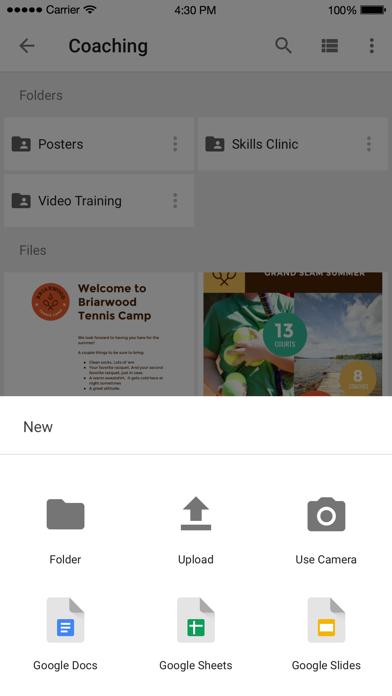 Google Drive – depolama iphone ekran görüntüleri