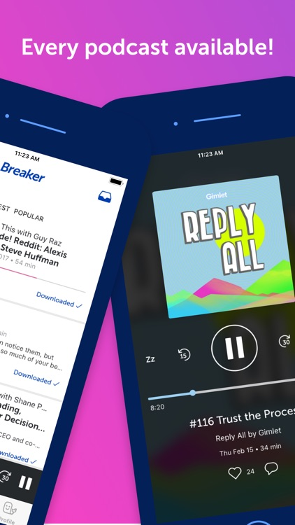 Breaker—The social podcast app