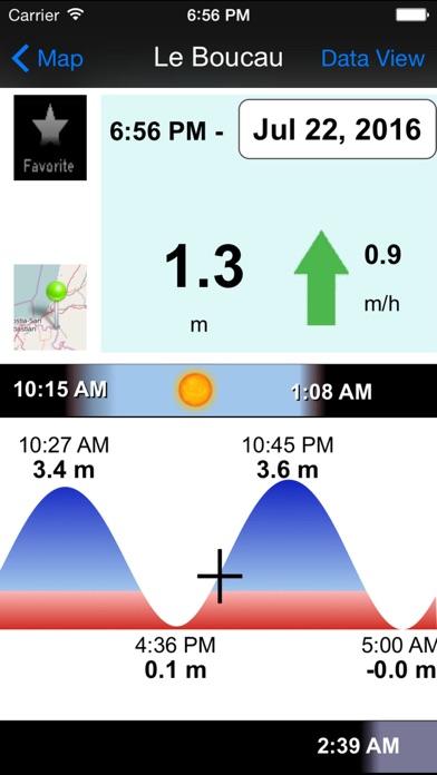 Screenshot for Marées et Courants GPS in Lebanon App Store