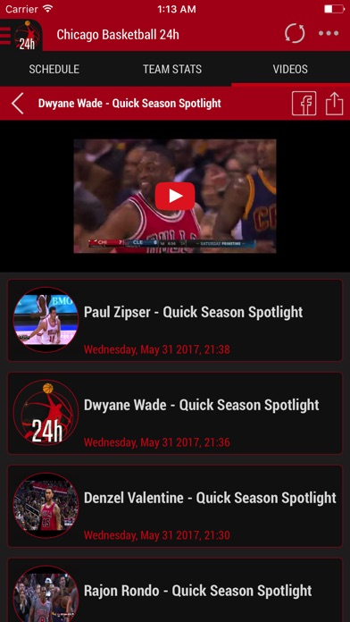 Screenshot 6 For 24h News Chicago Bulls