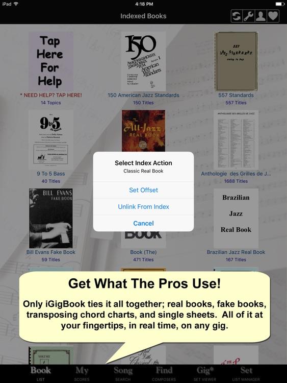 iGigBook Sheet Music Manager 5 screenshot-0