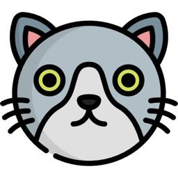 Cute Kitty Cat Stickers