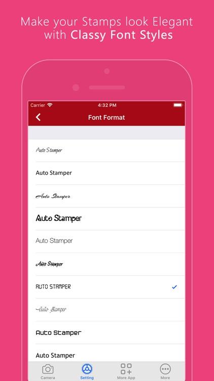 Auto Stamper: Timestamp Camera screenshot-3