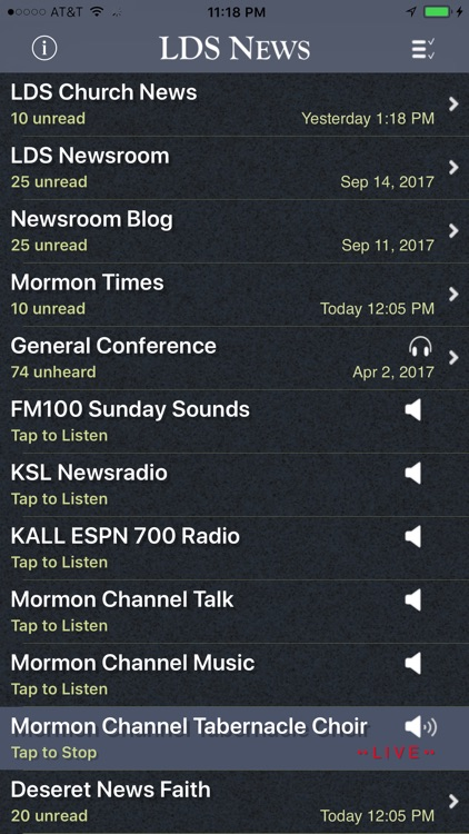 LDS News screenshot-0