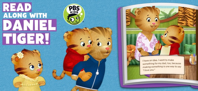 Daniel Tiger\'s Storybooks on the App Store