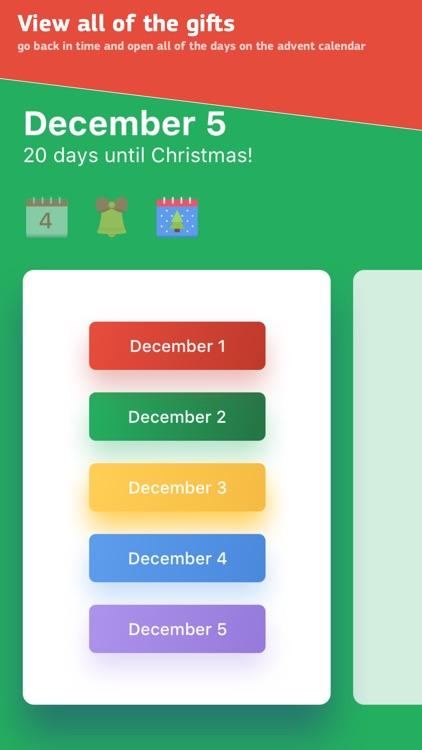 Advent Calendar 2017 Christmas screenshot-3