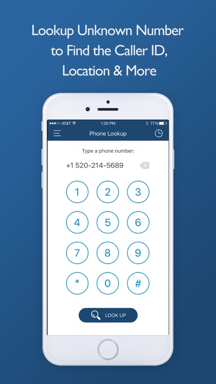 Phone Number Lookup -Reverse the Unknown Caller ID by Jin Ming