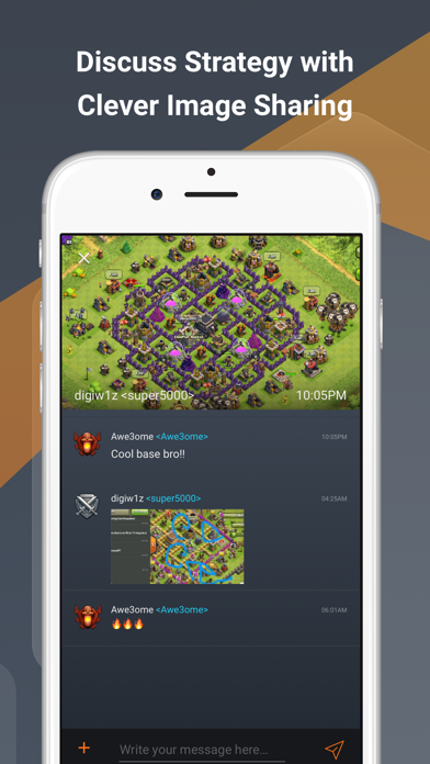 ClanPlay: Chat for Gamers screenshot four