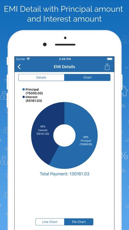 EMI Calculator & Finance PRO screenshot-5