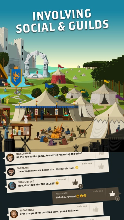 Questland: Turn Based RPG screenshot-4