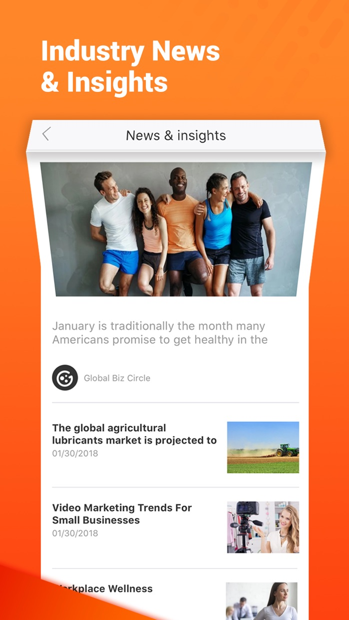 Alibaba.com B2B Trade App Screenshot