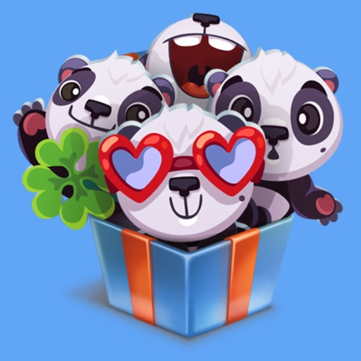 pandaSTiK sticker for iMessage