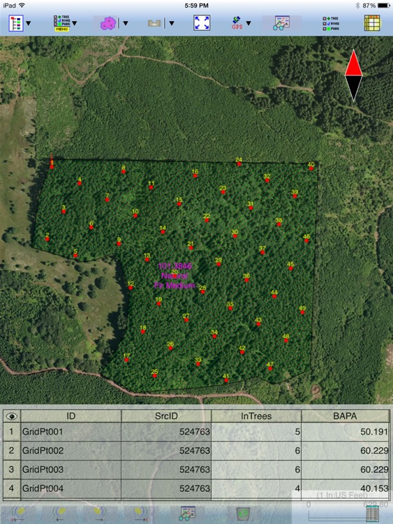 Forester GPS GIS II screenshot-3
