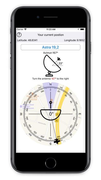 Screenshot for Satellite Finder (Pro) in Turkey App Store