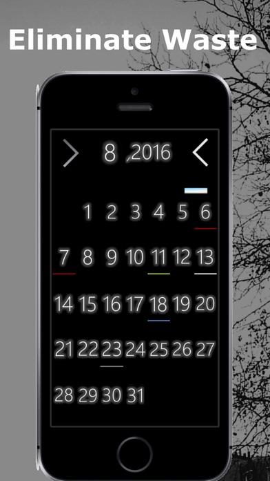 Daily planner *Deep Black screenshot one