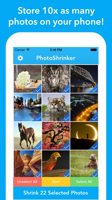 PhotoShrinker screenshot1