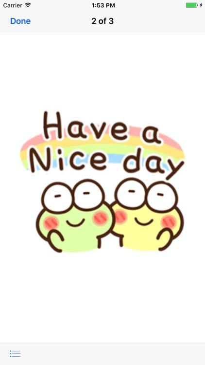 Very Cute Frog Emoji Sticker