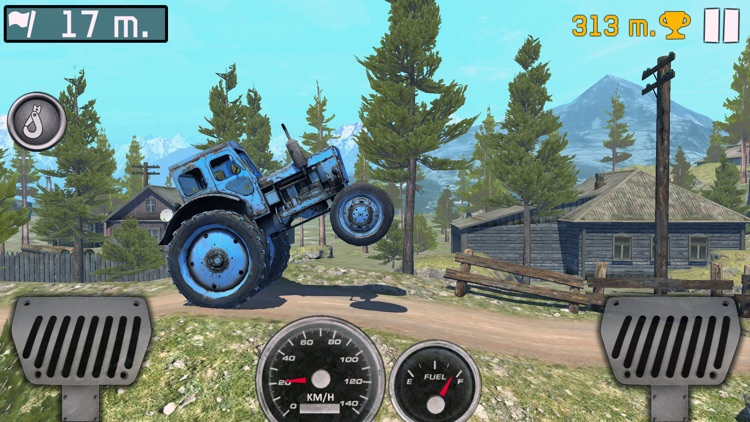 Ride to Hill: Offroad travel