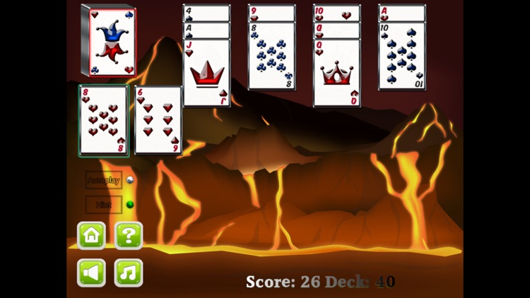 Aces Up Solitaire card game screenshot-3