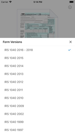 1040form On The App Store