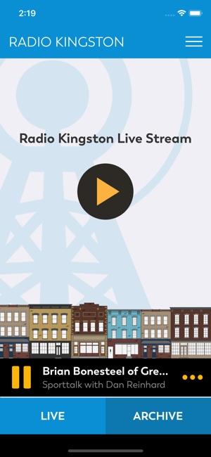 Radio Kingston on the App Store