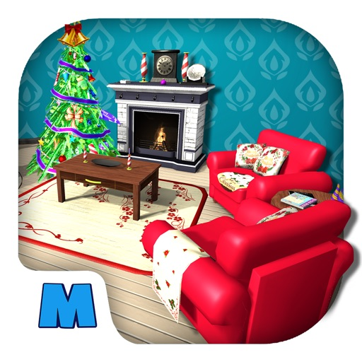 Christmas Room Decoration - AR