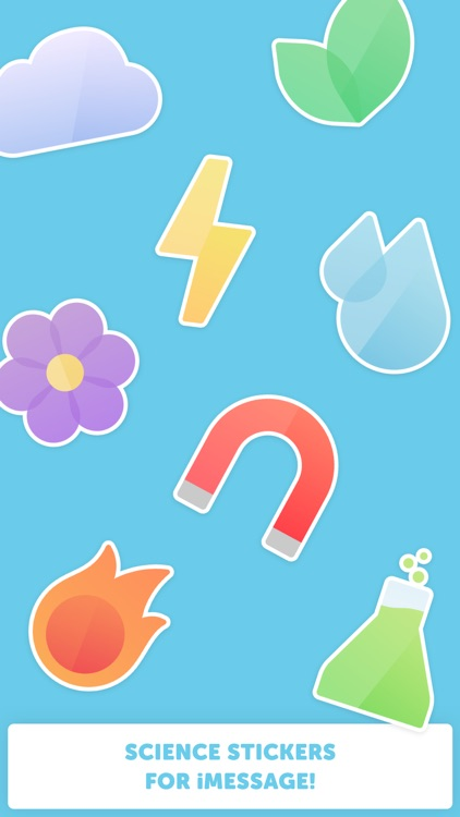 Science Stickers! for iMessage screenshot-1